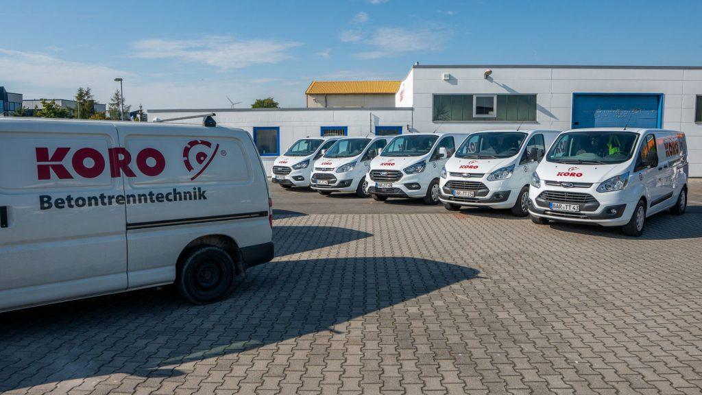 KORO Betontrenntechnik GmbH Über Uns